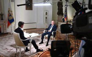 Vladimir Putin urobil rozhovor pre americký kanál NBC.
